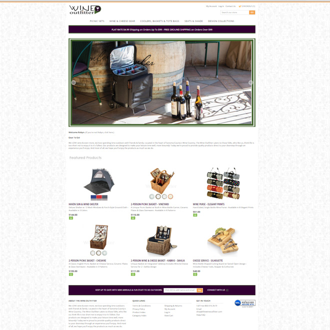 The Wine Outfitter Online Store